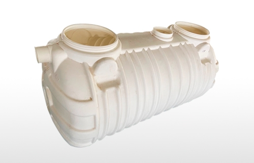 1.0m³无害化一体式三层吹塑化粪池